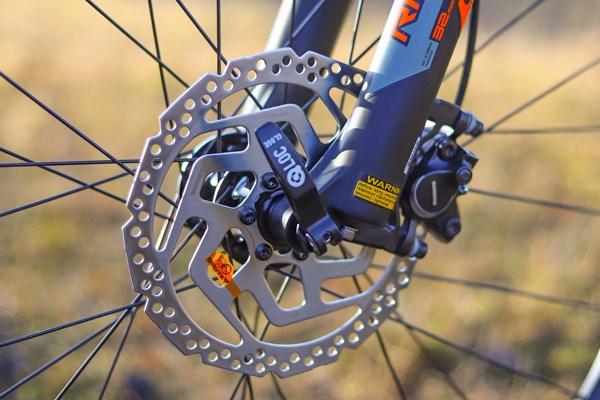 Giant Fathom disc brakes