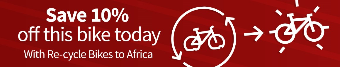 Buy a new bike today and save 10% - Hundreds of drop-off points around the UK