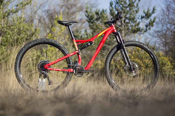 Specialized Camber full sus trail bike