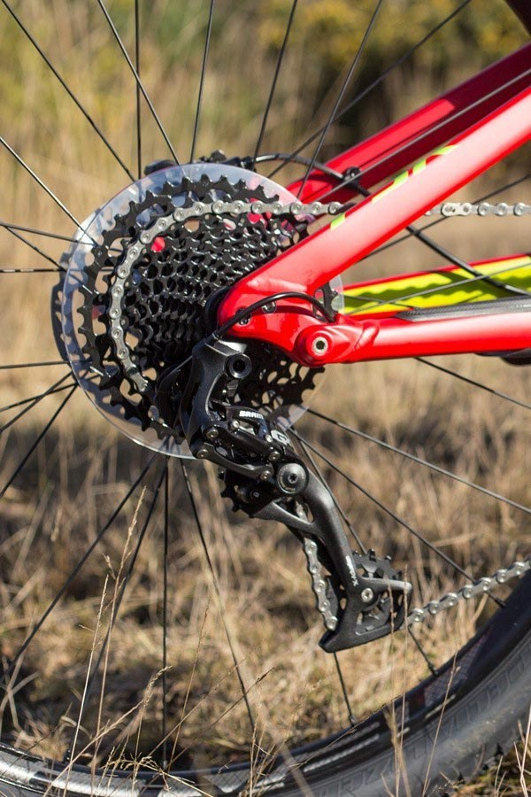 Specialized Camber drivetrain