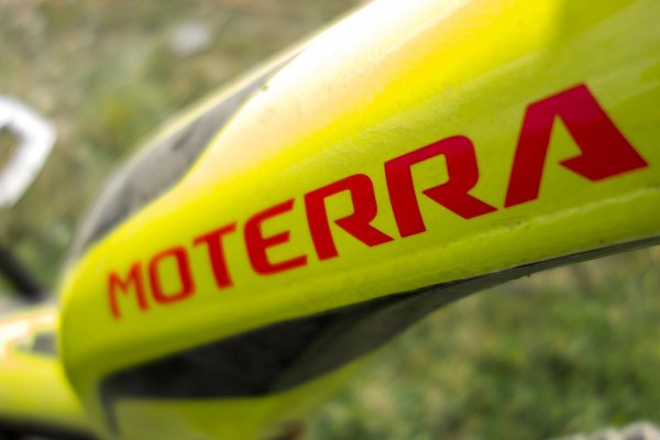 Cannondale Moterra Electric Mountain Bike Frame Logo