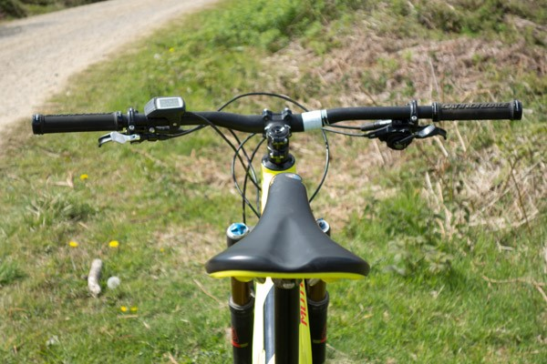 Cannondale Moterra Electric Mountain Bike Cockpit