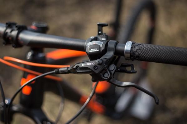 Cube Stereo 120 Brake lever