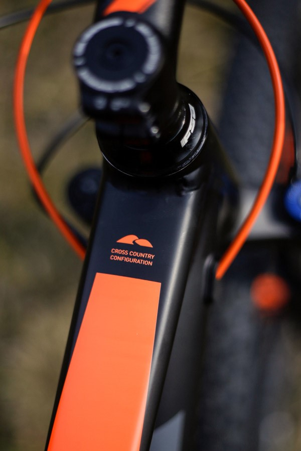 Cube Stereo 120 Top tube