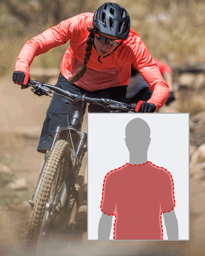 Image illustrating Specialized's Relaxed fit.