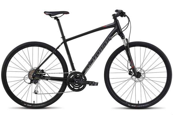 Specialized on-road / off-road hybrid bike