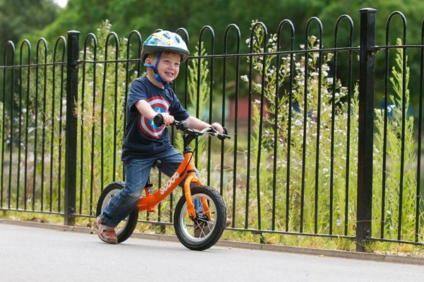 Balance bikes are a great way to develop essential skills