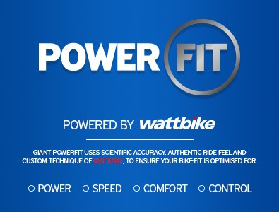 We now offer Powerfit in our Giant Swansea Store. Call us to find out more about this fantastic service