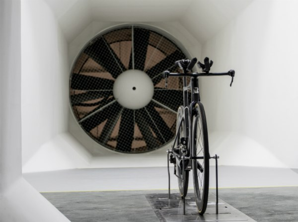 Inside the Boardman wind tunnel