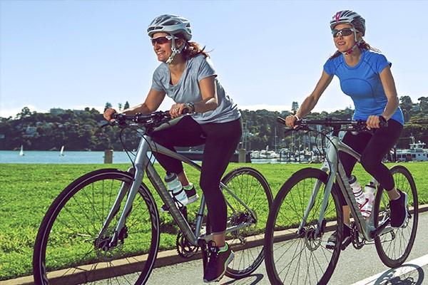 Hybrid cyclists