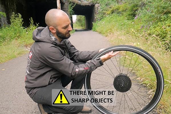 Check tyre & rim tape