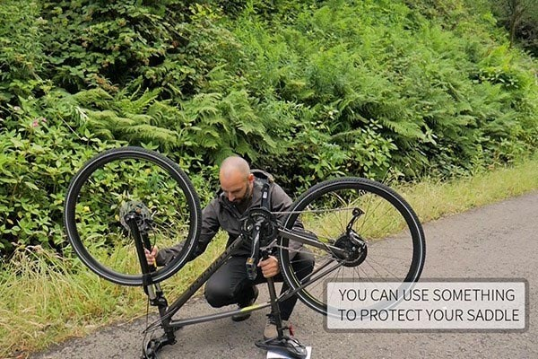 Get your bike into position