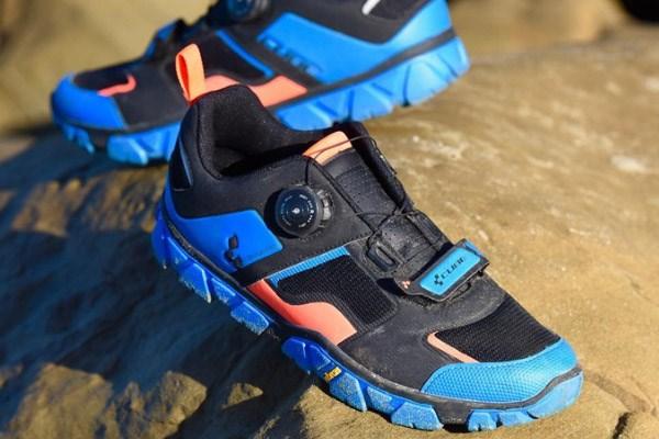 MTB shoe upper