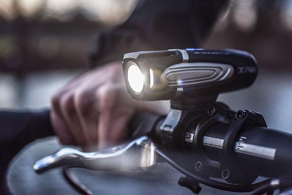 High powered front bike light