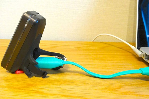 Bike light and charging cable
