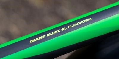 Aluxx aluminium bike frame decal