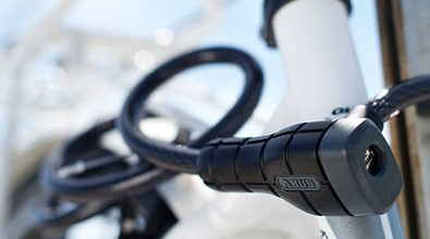Abus bicycle keyed cable lock