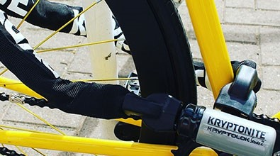 Kryptonite bicycle chain lock