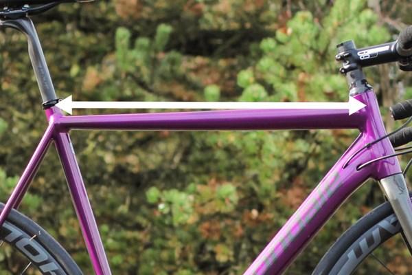 Road Bike top tube length