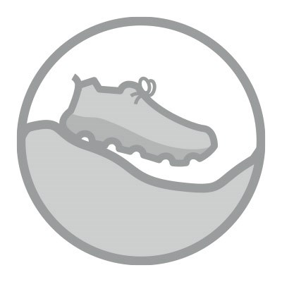 fell running shoes graphic