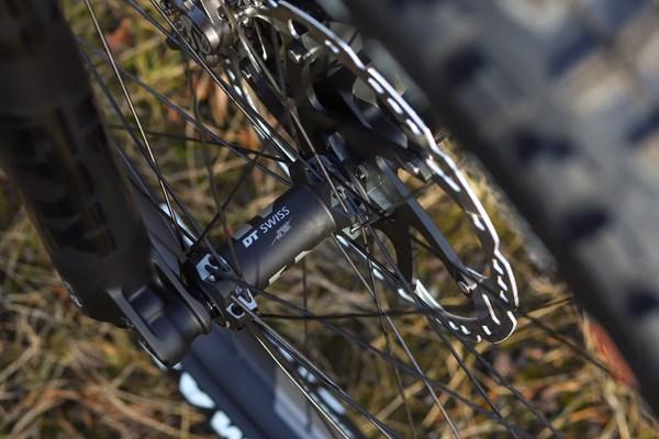 Merida eOne Sixty DT Swiss wheels