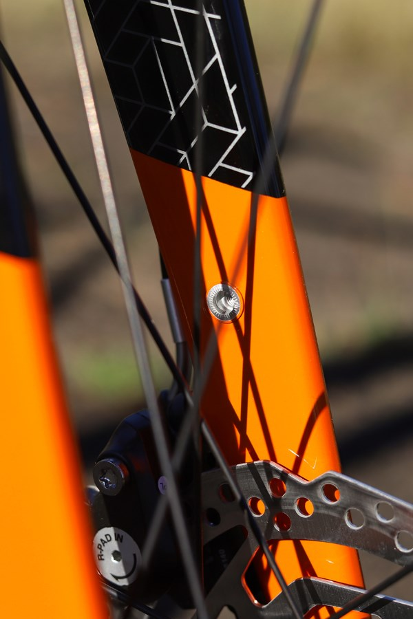 Orbea Gain carbon fork