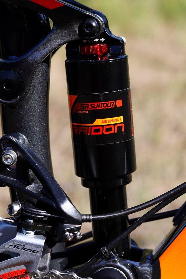 Giant Stance fork Suntour rear shock