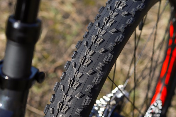 Giant Stance Maxxis Ardent tyre tread