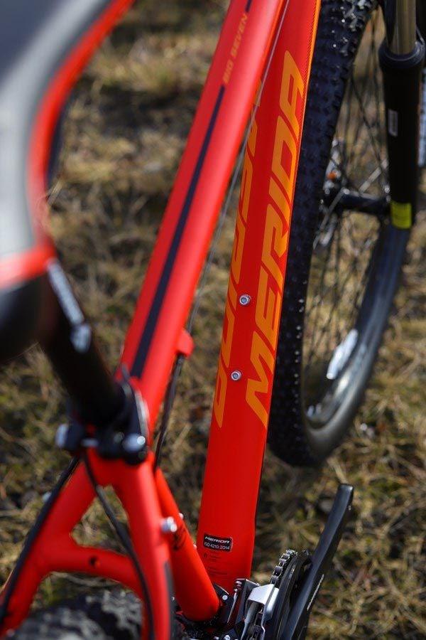 Merida Big Seven frame detail