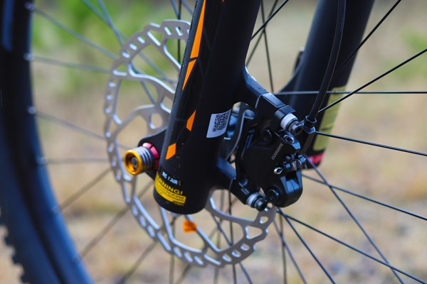 Merida One-Sixty 200mm rotors