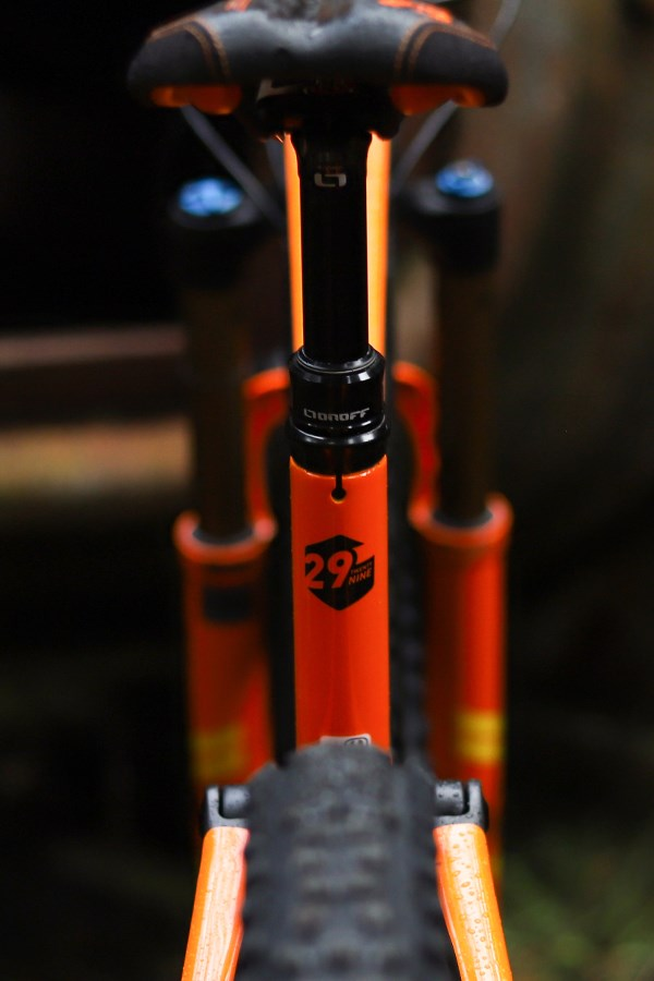 Mondraker Foxy 29 rear fraem detail