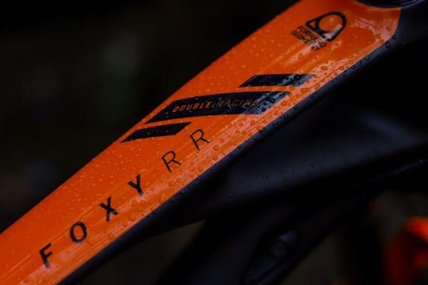 Mondraker Foxy Carbon RR frame detail