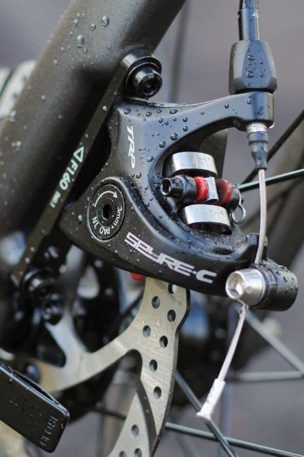 Cannondale Synapse disc brakes