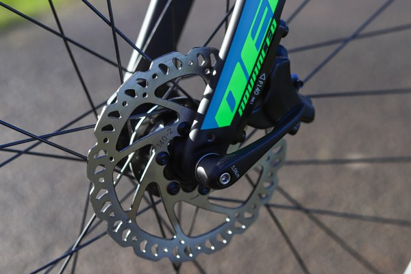 Giant Defy disc brakes