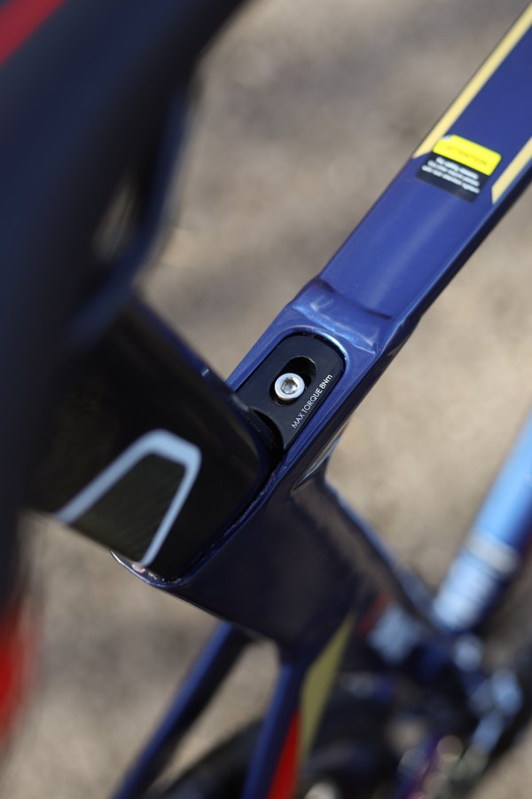 Merida Reacto 400 seat post clamp