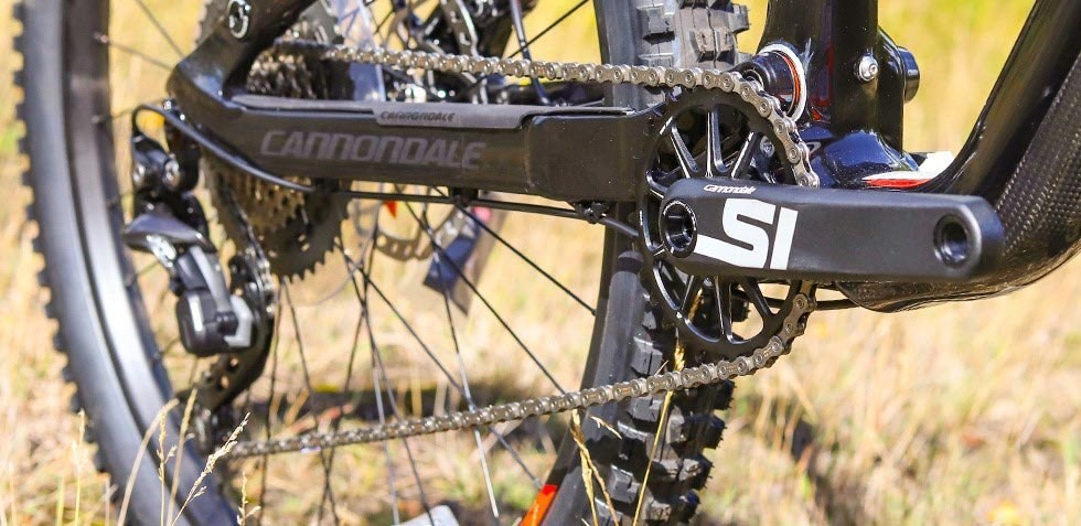Cannondale Jekyll groupset