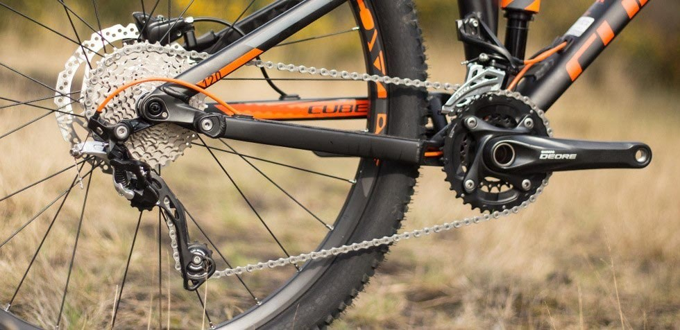 Cube Stereo 120 Groupset