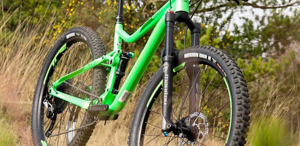 Merida One-Forty suspension
