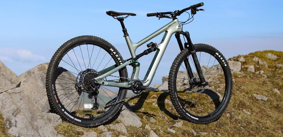 Cannondale Habit 2 carbon 29er in the Brecon Beacons
