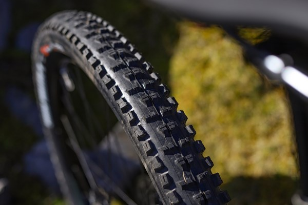 Cannondale Habit Maxxis High Roller tyre tread