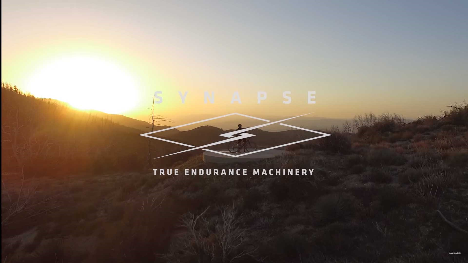 All-new Cannondale Synapse True Endurance Machinery