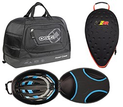 Cycling helmet bag