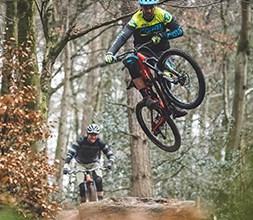 Jump bike forks