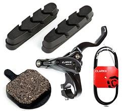 Clarks bike brakes