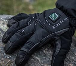SealSkinz Long Finger Gloves