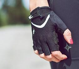 Women's Short Finger Cycling Gloves