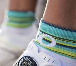 Women's cycling socks