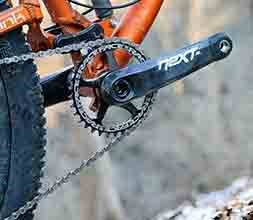 Mtb single chainring setup