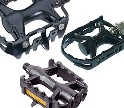 Bike cage pedals