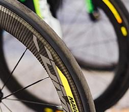 Mavic road cycling wheel